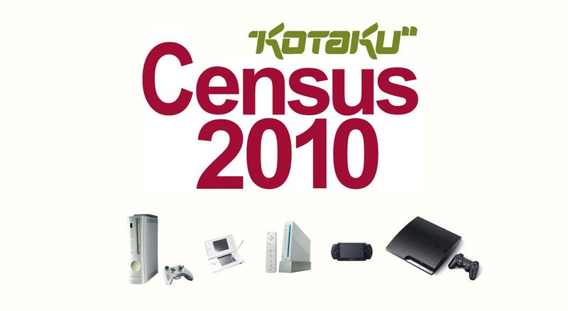 Illustration for article titled Kotaku Census 2010: The Consoles You Own