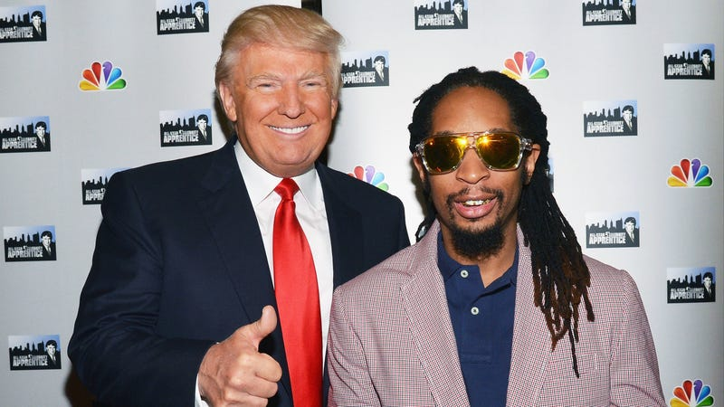 Illustration for article titled Well, Lil Jon Knows Who Donald Trump Is