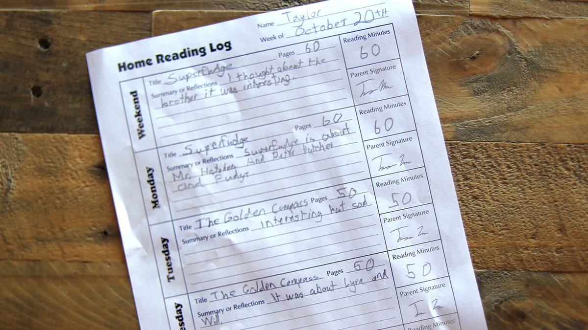 Litany Of Lies: A Third-Grader's Reading Log EXPOSED