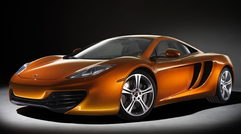 Illustration for article titled McLaren MP4-12C: First Photos, Details!