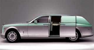Illustration for article titled Rolls-Royce Phantom Delivery Wagon