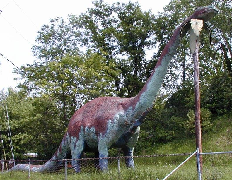 Michigans Abandoned Dinosaur Amusement Park Is Way Creepy