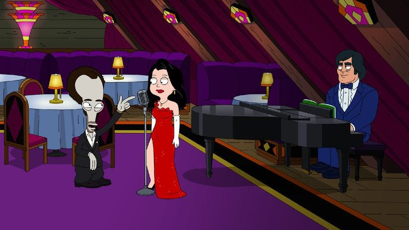 american dad love ad style