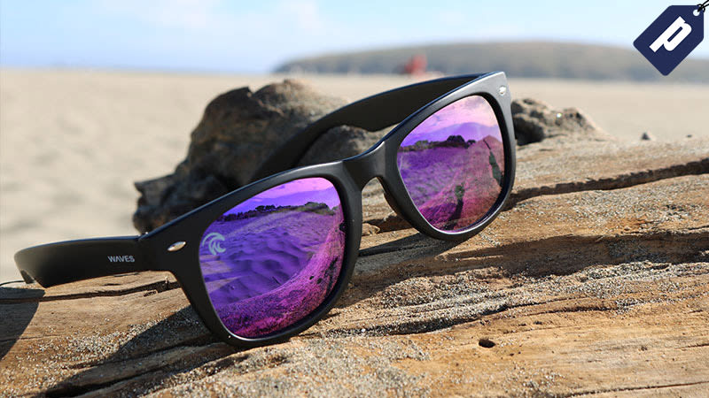 Illustration for article titled Get 50% Off These Reflective, Polarized Floating Shades From WavesGear ($20)