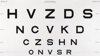 Illustration for article titled Examining the Fascinating Typographic History Of Eye Charts