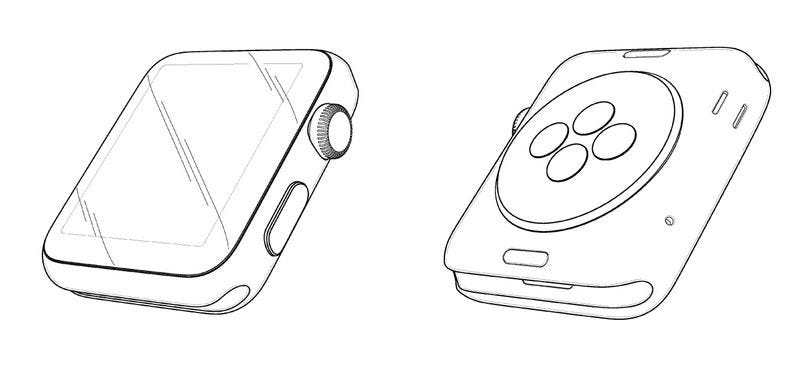 Illustration for article titled Apple Won a Design Patent for Its Watch