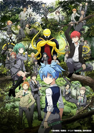 Illustration for article titled Assasination Classroom will get an Animation movie