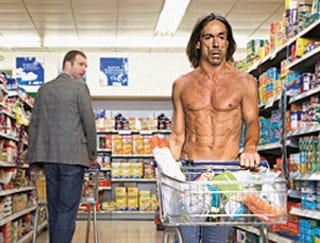 Illustration for article titled Iggy Pop Only One Allowed In Grocery Store Shirtless