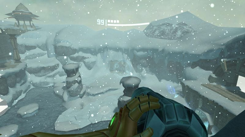 Phendrana Drifts in Metroid Prime