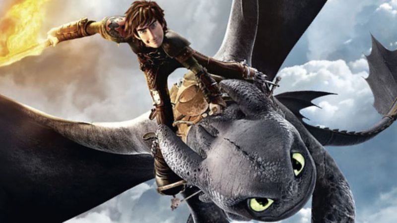 Illustration for article titled DreamWorks is adapting a new series from How To Train Your Dragon author