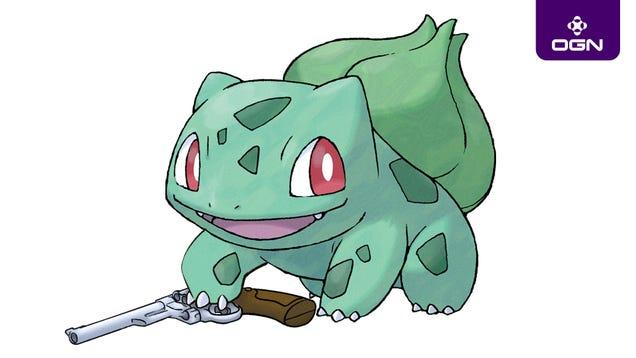 Nobody Panic: Bulbasaur Found A Gun