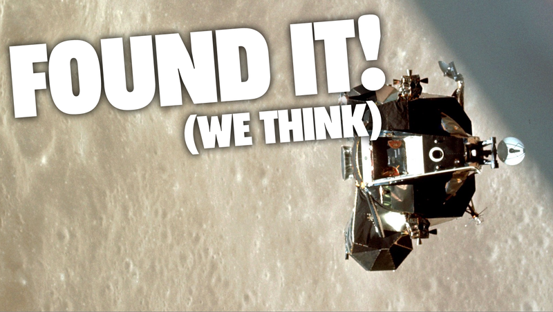 Illustration for article titled Astronomers Just About Certain They Found the Apollo 10 Lunar Module Floating in Space