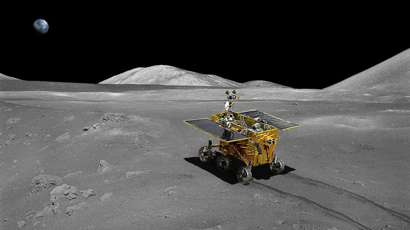 Illustration for article titled China's 'Jade Rabbit' Rover Heads For The Moon On Sunday