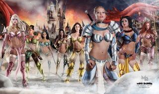 """Illustration for article titled """"Warrior"""" Disney Princesses"""