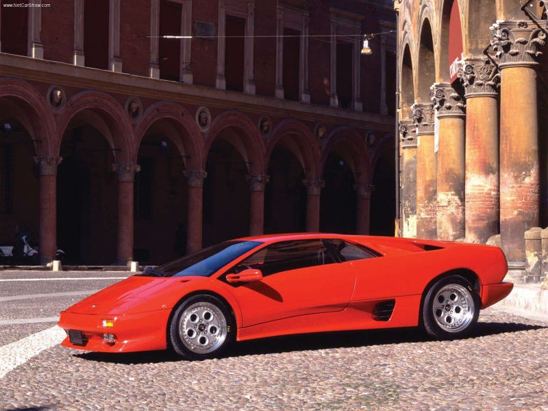 Illustration for article titled My want for French cars has transformed into the want for Diablo