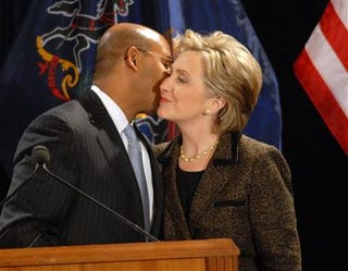 Clinton has the endorsement of Philadelphia Mayor Michael Nutter