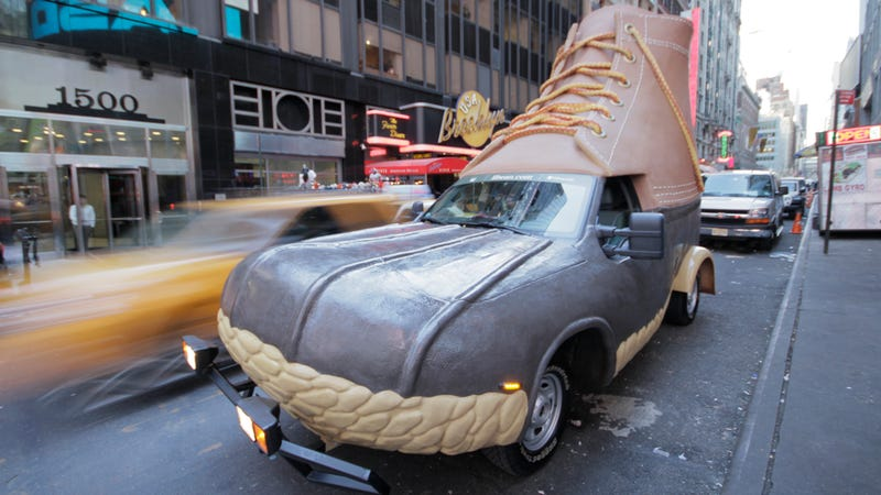 Illustration for article titled The L.L. Bean Bootmobile: First Drive