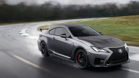 The 2020 Lexus Rc F Track Edition Adds Aero And Lightness