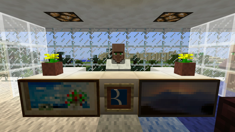 Illustration for article titled Two Kids Built A Minecraft Office For Their Dad's Company