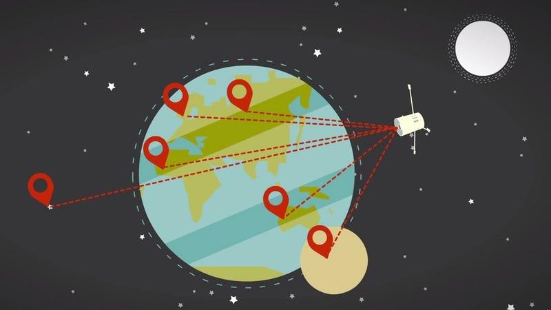 Illustration for article titled Por qué el GPS sobreestima siempre las distancias
