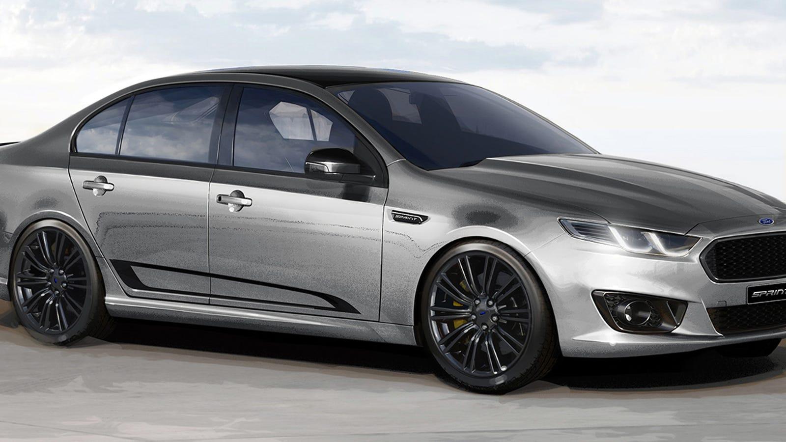 The 462 horsepower ford falcon xr8 sprint is a loud farewell to australian car production