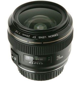 Illustration for article titled Canon EF 28mm f/1.8 USM, or