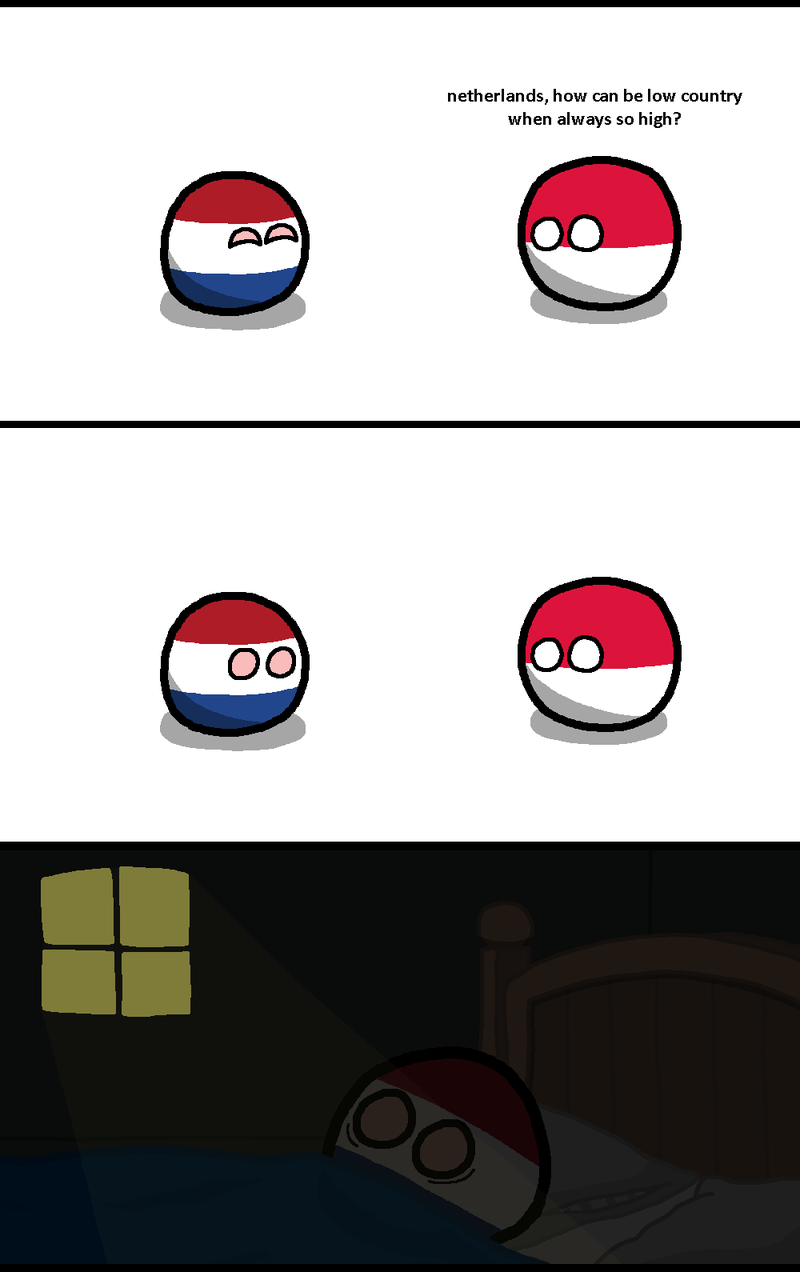 Illustration for article titled Daily Polandball: The Low of Being High