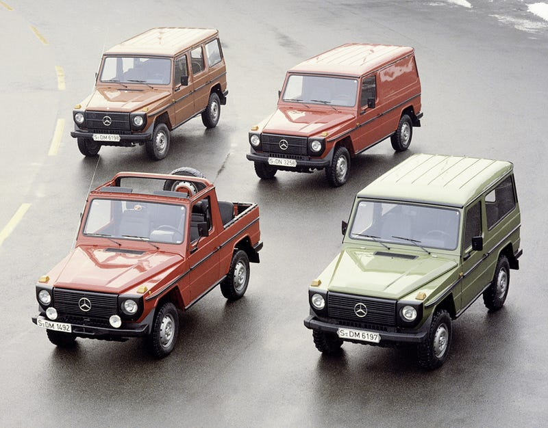 Illustration for article titled Mercedes G-Wagen Turns 30: The 11 Best Special Versions