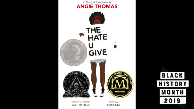 Illustration for article titled 28 Days of Literary Blackness with VSB | Day 25: The Hate U Give by Angie Thomas