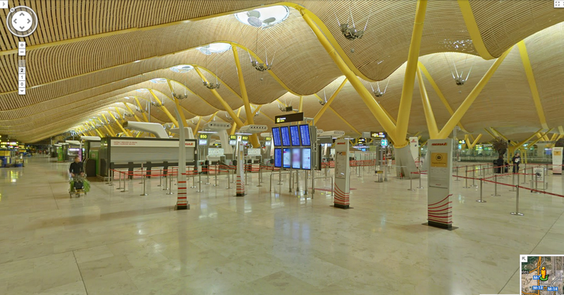 Illustration for article titled Google Street View Now Shows You the Inside of Airports