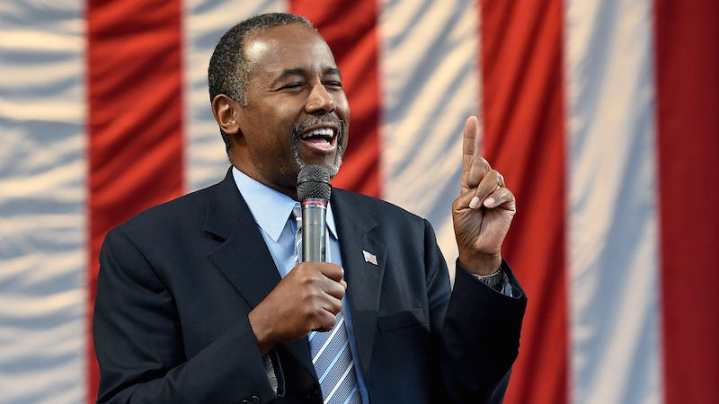 Illustration for article titled Former Children's Doctor Ben Carson Compassionately Compares Refugees to Rabid Dogs