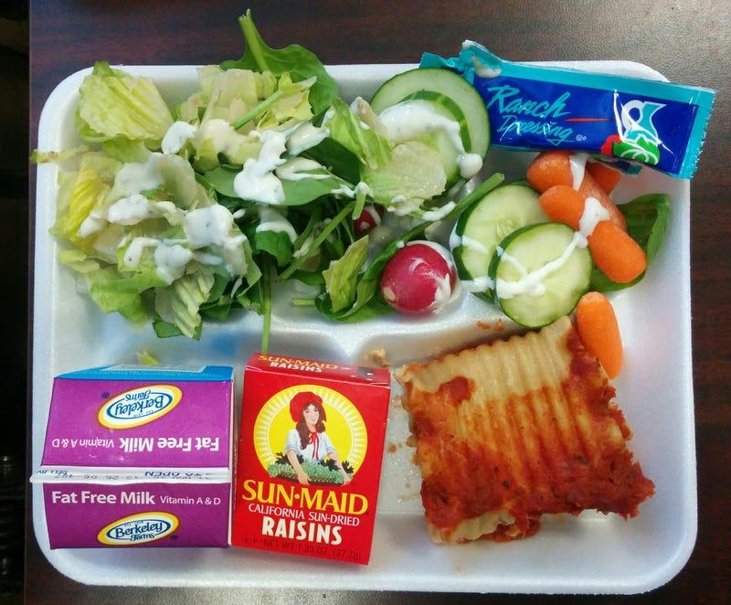 Illustration for article titled Lunchblog: Lasagna