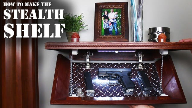 Hide Your Valuables In This Diy Secret Compartment Shelf