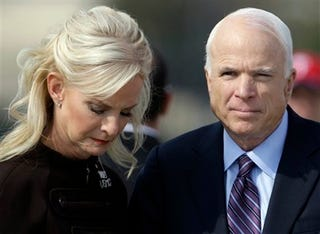 Illustration for article titled Cindy McCain: An Outsider Or A Victim Of 'Gutter Journalism?'