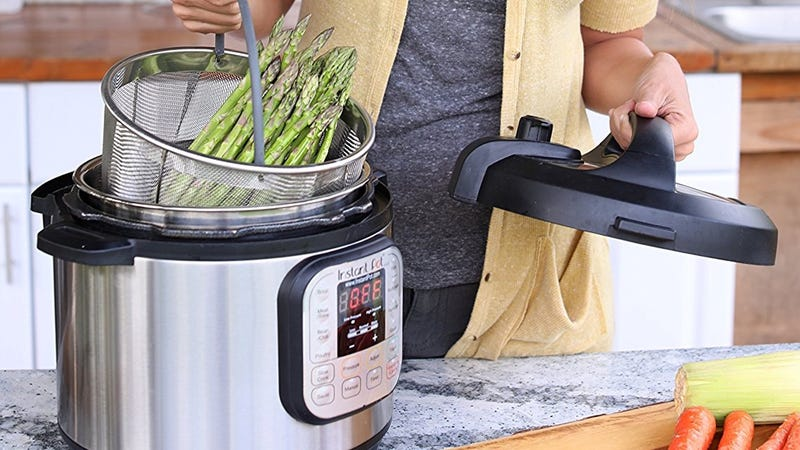 Instant Pot Steaming Basket   $23-$26   Amazon   Clip the $2 coupon