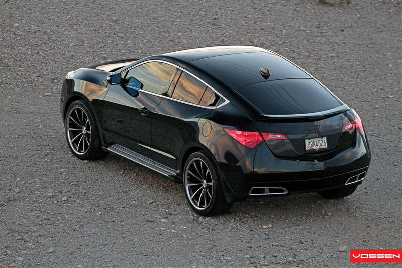 Illustration for article titled Yesterday I saw an Acura ZDX that looked almost exactly like this