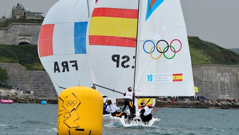 Illustration for article titled Olympic Sailing Called Off For Lack Of Wind