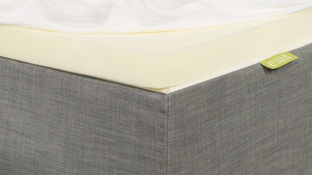 Make Your Old Mattress Feel New With These Discounted Memory Foam Toppers