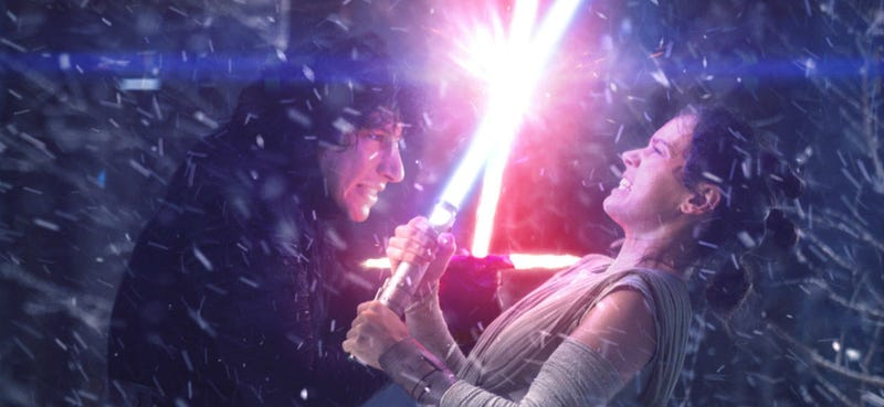 Illustration for article titled A Curious Addition to Rey and Kylo Ren's Official Bios Could Be the Key to Star Wars' Future