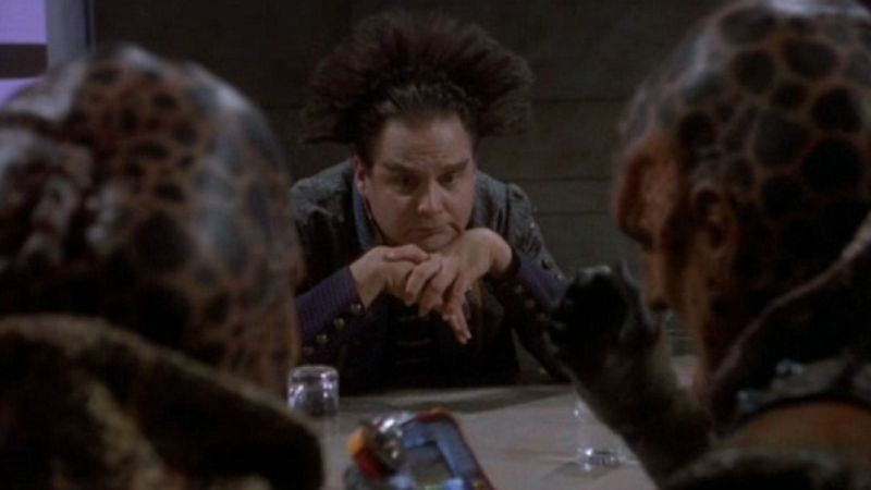 Illustration for article titled Want to know the best way to approach Babylon 5? That's what our reviews are for