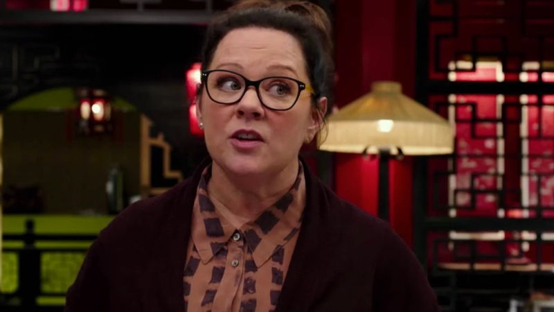 Melissa McCarthy in Ghostbusters.