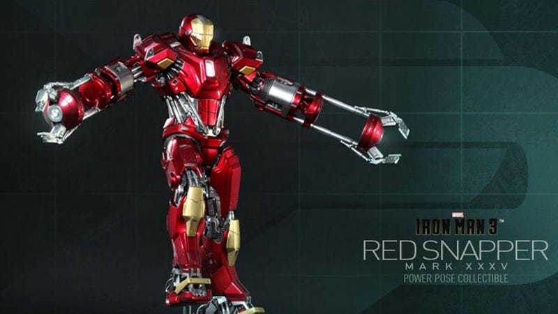 Illustration for article titled Iron Man Figure Takes Steroids, Thinks It Can Fight Megatron