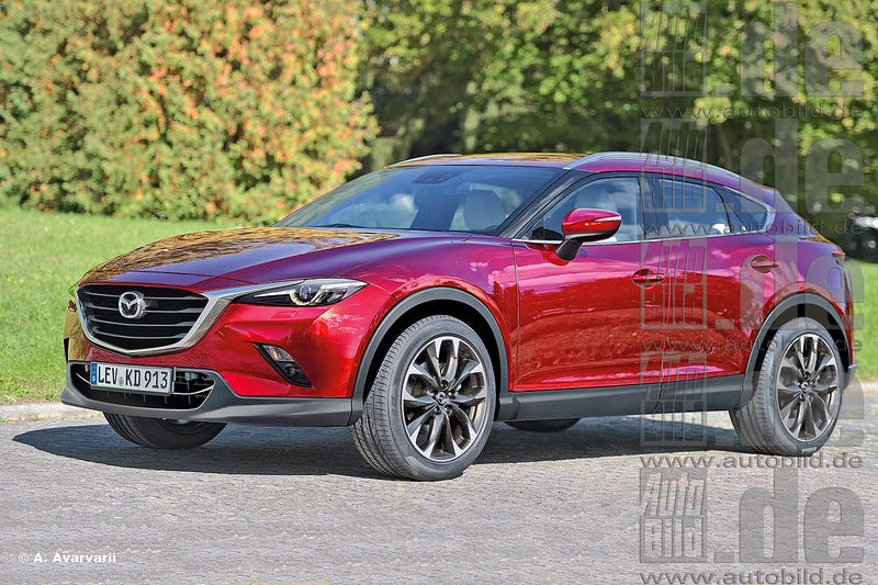 Illustration for article titled Mazda CX-6