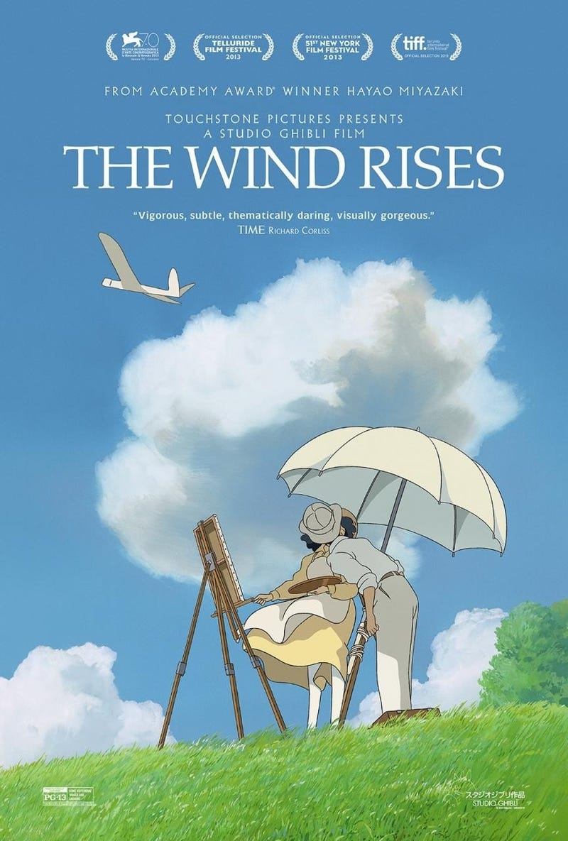Illustration for article titled Saw The Wind Rises last night