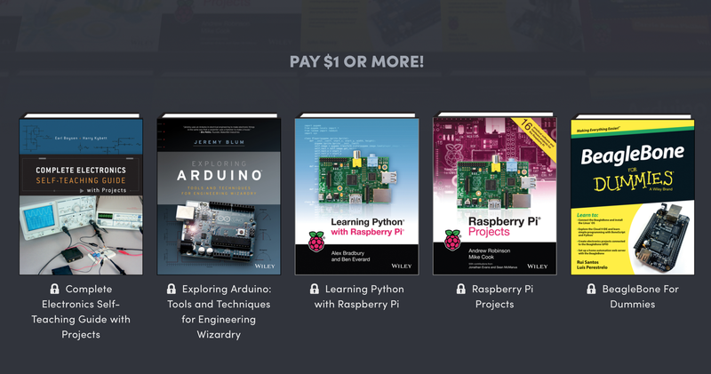 Humble DIY Electronics Ebook Bundle