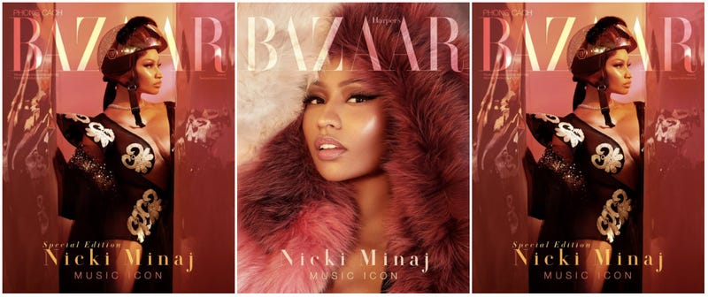 Illustration for article titled Isn't It Iconic? Nicki Minaj Covers Bazaar Vietnam's 'Music Icon' Issue