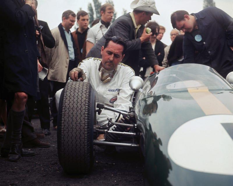 Illustration for article titled Happy Birthday To Formula 1 Legend Sir Jack Brabham