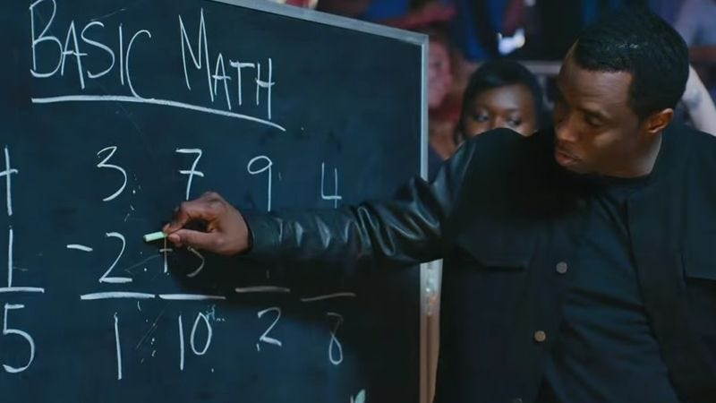 """Sean """"Diddy"""" Combs in The Lonely Island's """"Go Kindergarten"""" video"""