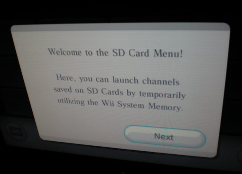 Illustration for article titled Wii System Update Adds Play From SD Card Support