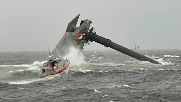 Freak 'Wake Low' Storm Capsizes Vessel, Stirs Up Hurricane-Force Winds